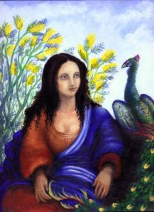 Woman_and_Peacock_by_Dark_Iry